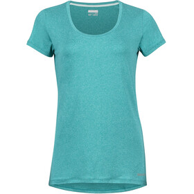 Marmot All Around t-shirt Dames turquoise